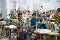 Where fashion comes rom: The working conditions and facilities in Bangladesh are of much lower quality than most formal export oriented factories as they aren't subjected to similar safety controls