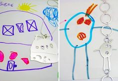 coolest idea ever--submit kids drawing and turn it into jewelry!