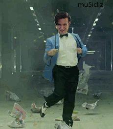 • SuperWhoAvengeLock...Gangnam Style doctor who amy pond eleventh doctor karen gillan matt smith Arthur Darvill Rory Williams sherlock 11 sh...