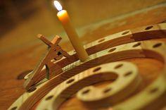 Advent/Lent candle wreath