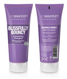 Blissfully Bouncy shampoo for Volumizing effect!