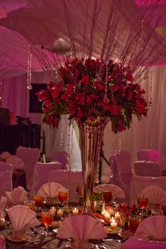 Centerpieces by Elliott Events