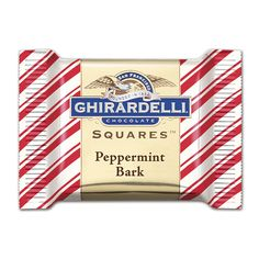They're back, but for a limited time only! | http://www.ghirardelli.com/store/shop-products/collections/peppermint-bark/milk-peppermint-bark-50-count-squares-chocolates-gift-bag.html?utm_source=Pinterest&utm_medium=Social&utm_campaign=peppermintbark