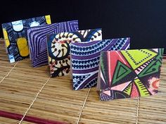 African Mixed Notes set C by Afrikards on Etsy, $15.00
