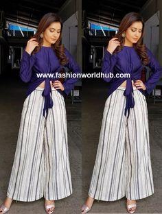 Raashi Khanna in Kanelle   Fashionworldhub