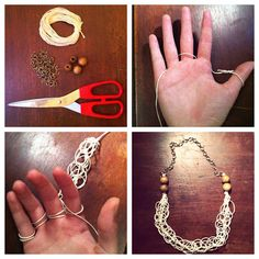 Stay Gold: DIY: Macrame Necklace.