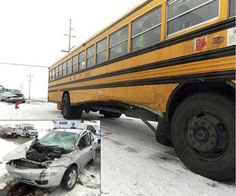 VWCS school bus collides with car at county intersection « The VW independent
