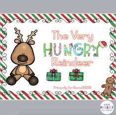 The Very Hungry Reindeer (a Mini Reader & Activity Pack ) by Primarily Au-Some
