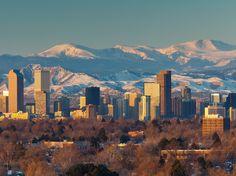 Skyline of Denver #Colorado #iGottaTravel