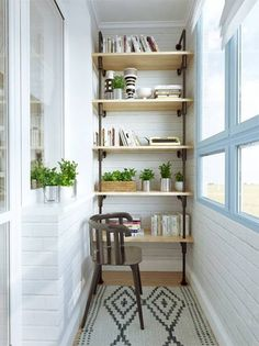 The Best Shelves for Small Spaces Tiny Sun Porch