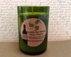 Patchouli Wino Candle