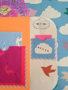 One Bunting Away: Another Type of Envelope