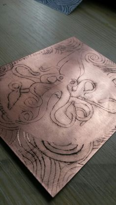 Copper etching progresssss