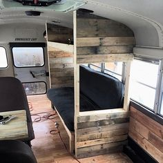 623 - Freightliner 6 window - Page 2 - School Bus Conversion Resources School Bus Conversion, School Bus Tiny House, School Bus House, Camper Conversion, Bus Remodel, Bus Interior, Trailer Interior, Converted School Bus, Rv Bus