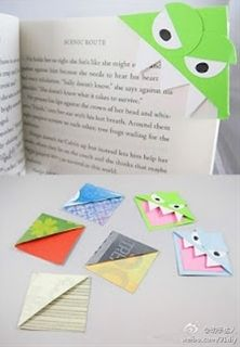 Bookmark monsters! Great for summer reading! - Click image to find more humor Pinterest pins