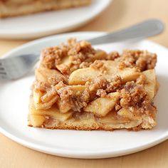 Hungry Girl's Healthy Apple Streusel Slab Pie