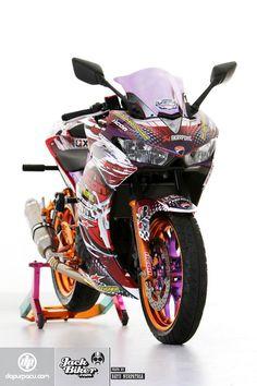 Yamaha R25, Begini Seharusnya Dandanan Freestyle!