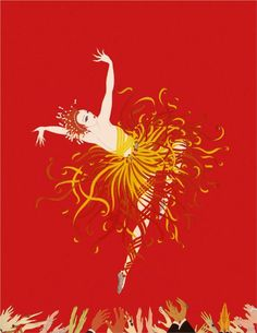 """Considering, somewhat, getting this as a tattoo at some point in the future. Erte, """"Applause."""""""