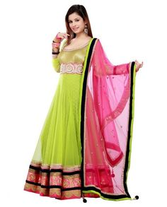 Bright colored indian clothing