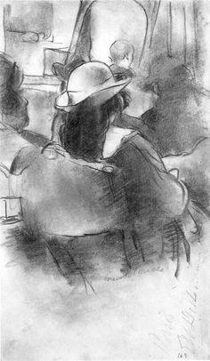 Girl, Concert Touche, 1920 (700) | Edwin Dickinson, 1891–1978