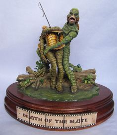 CREATURE DU LAGON NOIR STATUE RESIN MODEL GARAGE KIT 1/8 NO SIDESHOW BOWEN | eBay