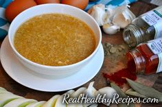 Cold & Flu Recovery Soup | Real Healthy Recipes