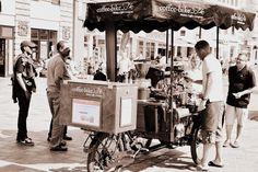 Kaffee in der Stadt