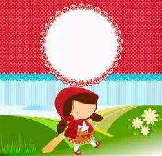 Le Gui, Red Riding Hood Party, Kit Digital, Little Red Ridding Hood, Baby Party, Silhouette Projects, Yoshi, Fairy Tales, Birthday