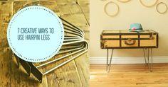 7 Creative Ways to Use Hairpin Legs