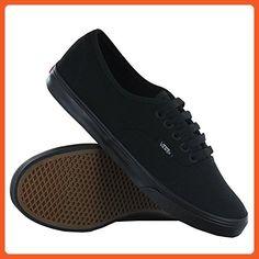 Vans Unisex Authentic Lo Pro Skate Shoe (10 B(M) US Women / 8.5 D(M) US Men, Black/Black) - Sneakers for women (*Amazon Partner-Link)