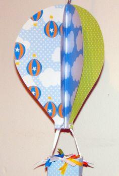 Balão em 3D Festa Aviador