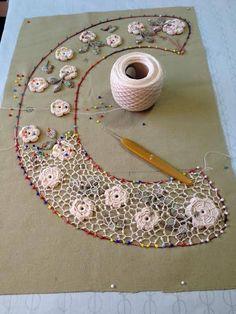 Выдающийся крючком: Ирландское вязание