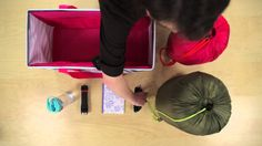 How to pack your Large Utility Tote  with the Stand Tall Insert