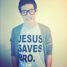 Jesus Saves Bro. by 8tnapparel.  Follow us on Tumblr and Twitter too :)