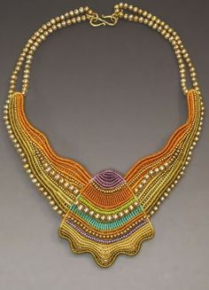 Secret Life of Jewelry - A Universe of Handcrafted Art to Wear: Micro-Macramé Symmetry - Joan Babcock Jewelry