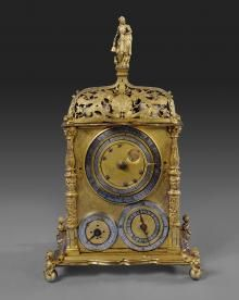 early clocks the frick collection