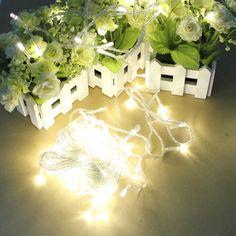 100 LED 10m Warm White String Decoration Light for Christmas