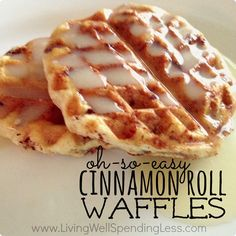 I had a totally different recipe planned to share with you this week, but then I made these cinnamon roll waffles on Saturday and I knew I had to share them with y'all ASAP! I honestly don't think I have ever seen my kids eat so fast or so much for breakfast! Healthy, they …
