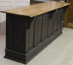 Vintage Amish Built Bar / Kitchen Island by NoahsNaturalDesigns, $700.00