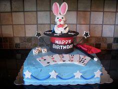 Magic Show Birthday Cake — Children's Birthday Cakes