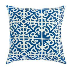 Greendale Home Fashions Outdoor Accent Pillows, Indigo, Set of 2.  List Price: $36.99  Buy New: $32.07  You Save: 13%  Deal by: SmartPillowShoppers.com