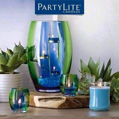 PartyLite Candles, Candle Holders, Home Party, Direct Selling