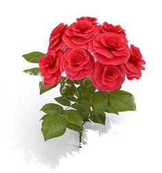 Červené růže Rose kytice pohyblivý animovaný gif obrázek Watercolor vodové barvy stažení zdarma Lots Of Money, How To Make Money, It Cast, Watercolor, Make It Yourself, Girls, Flowers, Plants, Pen And Wash