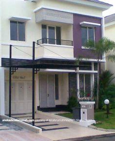 desain canopy teras rumah modern minimalis homes
