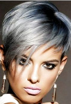 18 Short Hairstyle Trends for Major Inspiration in 2019 - Short Pixie Cuts - Short Hairstyle Trends in 2019 Women's Haircuts That Will Be in Fashion in 2019 The constant desire to improve, to experiment with the length of hair. Short Haircuts With Bangs, Haircuts For Medium Hair, Short Hairstyles For Women, Edgy Pixie Haircuts, Long Hair Cuts, Pixies, Hair Trends, Short Hair Styles, Experiment