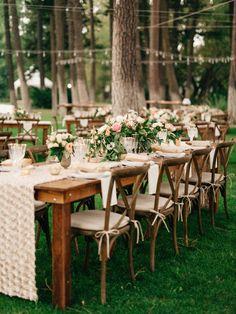 Outdoor rustic Montana wedding: http://www.stylemepretty.com/2017/05/02/intimate-destination-wedding-in-montana/ Photography: Jeremiah and Rachel - https://jeremiahandrachel.com/