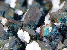 #Chalcopyrite and #enargite . #rocks #geology #minerals