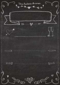 easy DIY fashion that look fabulous! Chalkboard Designs, Diy Chalkboard, Tafel Clipart, Chalk Lettering, Do It Yourself Wedding, Blackboards, Menu Design, Chalk Art, Project Yourself