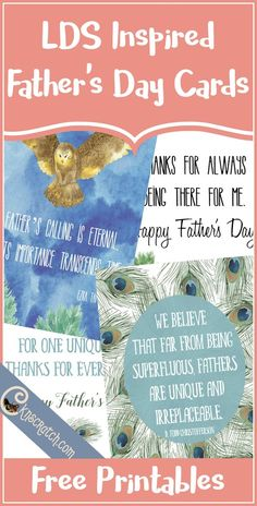 Free LDS Inspired Father's Day Cards from Chicken Scratch N' Sniff. Free LDS Inspired Father's Day Cards from Chicken Scratch N' Sniff. Diy Father's Day Gifts Easy, Father's Day Diy, Fathers Day Presents, Fathers Day Cards, Gifts For Elderly, Gifts For Kids, World's Greatest Dad, Gift Guide For Him, Personalized Gifts For Dad