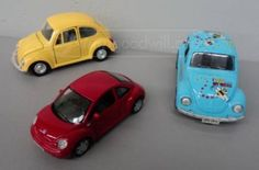 shopgoodwill.com: Assorted Metal Beetle Cars (3)